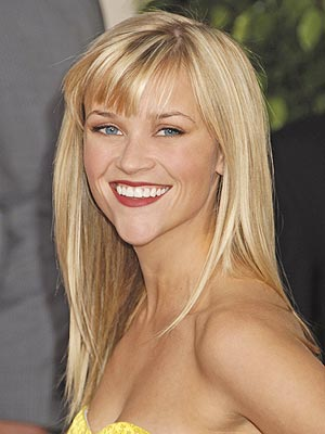 Reese Witherspoon Long Straight Hairstyle