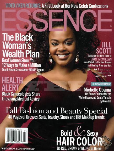 Jill scott on the cover of essence magazine new york for Essence magazine recipes