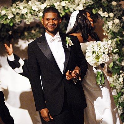 Usher Wedding pics