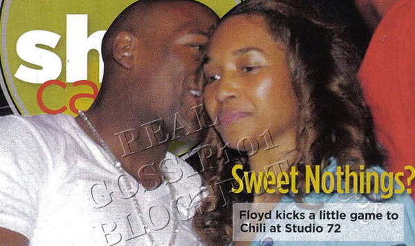 """chilli dating floyd mayweather Chilli & floyd mayweather spotted out the """"a"""" [exclusive photos] may, 16 2012 