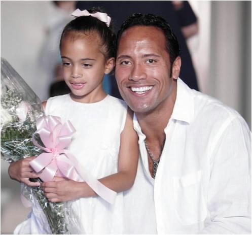Dwayne Johnson Daughter AgeUncle Rico Kyle Orton