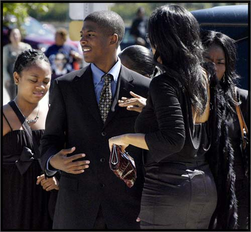 Bernie Mac Funeral Pictures Bernie mac's tv family