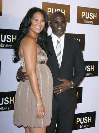 Djimon Hounsou and Kimora Lee
